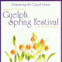 Image of 2002 Guelph Spring Festival Program