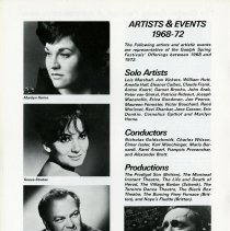 Image of Artists & Events, 1968-1972, p.20