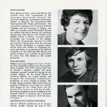 Image of Myra Benson; Wm. Lord; Archdeacon Clarence Mitchell, p.32