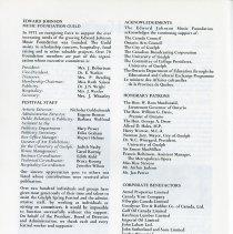 Image of Edward Johnson Guild; Acknowledgements, p.40