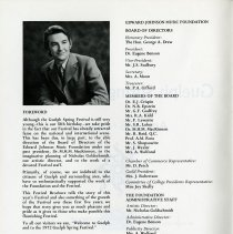 Image of Foreword by Eugene Benson, President, p.2