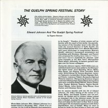 Image of Edward Johnson and the Guelph Spring Festival, p.17