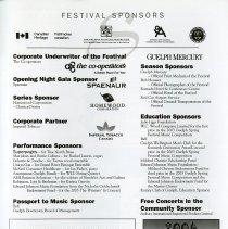 Image of Festival Sponsors, p.21