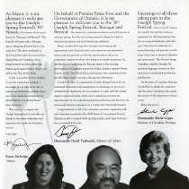 Image of Message of Welcome, Mayor Karen Farbridge, p.5
