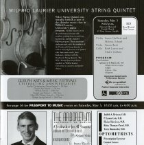 Image of Wilfred Laurier University String Quartet, p.11