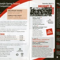 Image of 2004 Guelph Spring Festival Music Competition; Passport to Music, pp.12-13