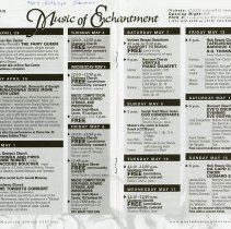 Image of Festival Calendar of Events, pp.10-11