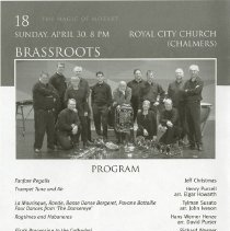 Image of Brassroots Concert Program, p.18
