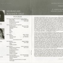 Image of Nesrallah-Bolshoy Duo, pp.22-23