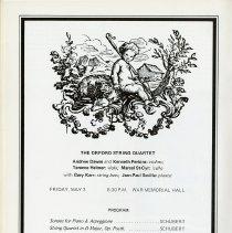 Image of The Orford String Quartet Program, p.20