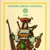Image of 1974 Guelph Spring Festival Program