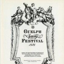 Image of Guelph Spring Festival 1976, p.1