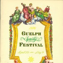 Image of 1976 Guelph Spring Festival Program
