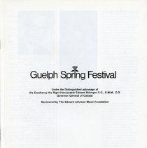 Image of Guelph Spring Festival 1979, p.1