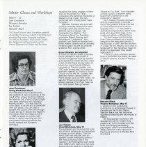 Image of Master Classes and Workshops, p.15