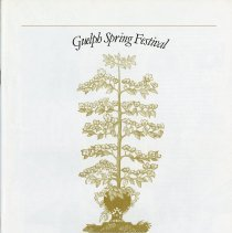 Image of 1980 Guelph Spring Festival Program, p.1