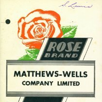 Image of Matthew Wells Group Insurance Booklet.