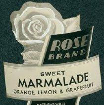 Image of Matthew-Wells Marmalade Label
