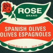 Image of Matthew-Wells Spanish Olives Label