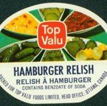 Image of Matthew-Wells Hamburger Relish Label