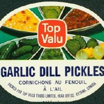 Image of Matthew-Wells Garlic Dill Pickles Label