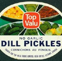 Image of Matthew-Wells Dill Pickles Label