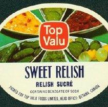 Image of Matthew-Wells Sweet Relish Label