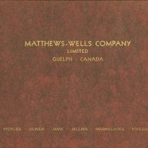 Image of Matthew Wells Booklet of Products