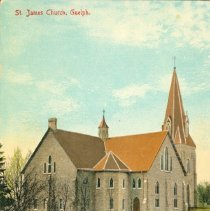 Image of St. James Church Postcard