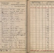 Image of Log Book Page Example