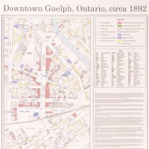 Image of Downtown Guelph 1892