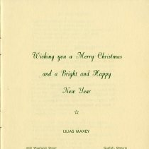 Image of Christmas Greetings from Poet, Lilias Maxey, p.1