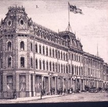 Image of Wellington Hotel Engraving