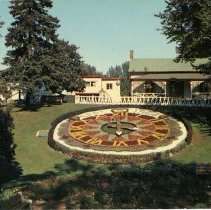 Image of Floral Clock- Front