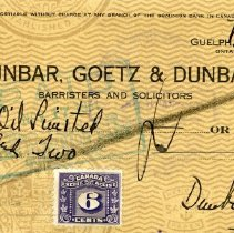 Image of 2009.50.3 - Check, Bank