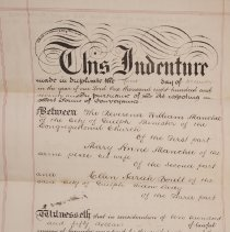 Image of Indenture, Front