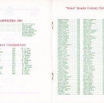 Image of Quarter Century Club Dinner November, 1981