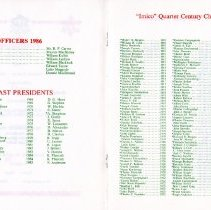 Image of Quarter Century Club Dinner November, 1986