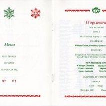 Image of Quarter Century Club Dinner November, 1987