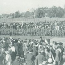 Image of Military Drill in Exhibition Park