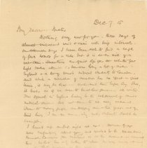 Image of Letter from J McCrae 1915