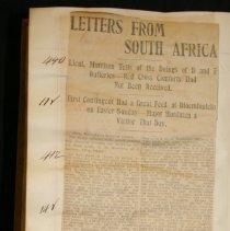 Image of Boer War Ledger Pg.92