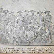 Image of Boer War Ledger Pg.113