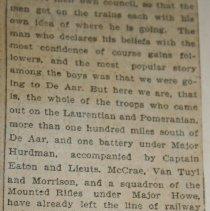 Image of Boer War Ledger Pg.56