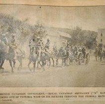 Image of Boer War Ledger Pg.64