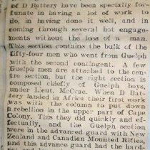 Image of Boer War Ledger, Pg.38