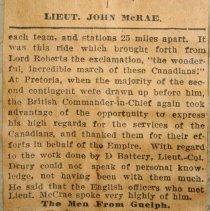 Image of Boer War Ledger, Pg.66