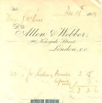 Image of Bill of Sale