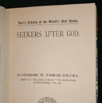 Image of Seekers After God