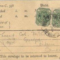 Image of M1968X.240.1 - Envelope